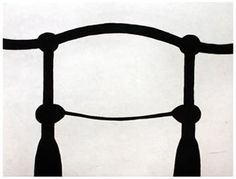 Martin Puryear, Shoulders (State 2), etching, 2002, courtesy of Paulson Prints
