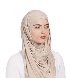 Washed Mink Maxi Jersey Hijab - £12.99 : Inayah, Islamic Clothing & Fashion, Abayas, Jilbabs, Hijabs, Jalabiyas & Hijab Pins Modest Outfits, Modest Clothing, Hijab Fashion, Fashion Outfits, Hijab Pins, Hijab Niqab, Islamic Clothing, Mink, Satin