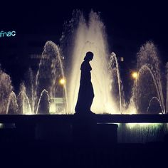 Plaça Catalunya fontains