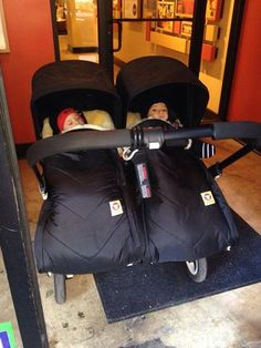 #Fareskind #Twins for a #fun #Comfy #stroller ride.