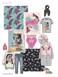Style Right Women Trend Book - A/W - Fashion Trend Book - Patterns - Shapes - Designs - Inspirational Book. Now available at Appletizer!nl or give us a call Summer Fashion Trends, Latest Fashion Trends, Fashion Forecasting, Fashion Project, Teen Fashion, Fashion 2018, Women Wear, Fashion Design, Aw 2018