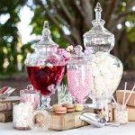 DIY Vegan Wedding Candy Buffet
