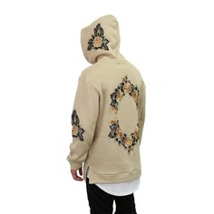 THE MANCHESTER HOODIE - FLORAL