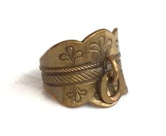 Your place to buy and sell all things handmade Bronze Ring, Oval Rings, Makers Mark, Wearable Art, Finland, Traditional, Stuff To Buy, Etsy, Vintage