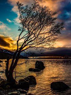 Loch Ness Sunset, Scotland