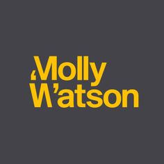 Logotype designed by Studio Blackburn for communications specialist Molly Watson.