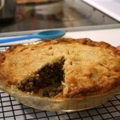 Reveillon Tourtiere food-and-drink