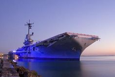 American Ghosts and Hauntings: USS Lexington (The Blue Ghost) - Corpus Christi, Texas