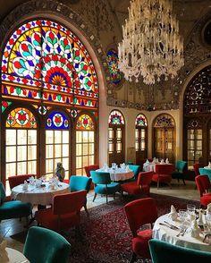 Saraye Ameriha Boutique Hotel restored by Ezam Construction. #Kashan #Iran : @babakrahimi #architectanddesign