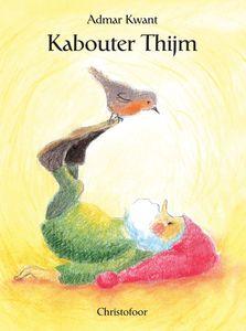 Kabouter Thijm. Kabouter Thijm met zijn rode muts en witte baard heeft veel vrienden in het grote bos. Hij maakt een praatje met konijn, het roodborstje zingt een lied voor hem, in de herfst raapt hij de eikels en in de winter komt het winterkoninkje even langs. Zo leidt Admar Kwant ons aan de hand van kleine belevenissen door de vier seizoenen van het jaar. Admar Kwant heeft een prachtig, kleurrijk prentenboek gemaakt, dat geborgenheid uitstraalt.