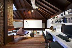 cool attic home office design ideas shelterness cool office designs information home office designs office