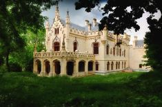 Sturdza palace Iasi Miclauseni Romania - being restored Architecture Old, Amazing Architecture, Romanian Castles, Visit Romania, Fantasy Castle, Castle House, Historical Monuments, Europe, Exotic Places