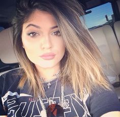 Kylie Jenner #ombre #hair