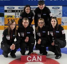 Great article on curling Coach Earle Morris.  Earle Morris, back right, and the rest of Team Homan; front row, from left, Rachel Homan, Emma Miskew, Alison Kreviazuk, Lisa Weagle. Back l...