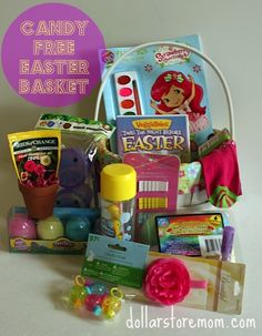 Candy Free Easter Basket and Egg Hunt Ideas