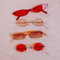 Red glasses Image from Urban Outfitters Red glasses Image from Urban Outfitters Cute Jewelry, Jewelry Accessories, Fashion Accessories, Sunglasses Accessories, Red Aesthetic, Aesthetic Vintage, Aesthetic Rings, Aesthetic Collage, Aesthetic Pictures