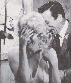 16/01/1960 Conference de Presse pour Let's Make Love - Divine Marilyn Monroe