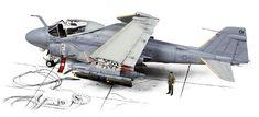 A-6E Intruder by Maciek Zywczyk (Revell 1/48)