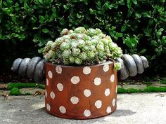 Keramik Pflanztopf