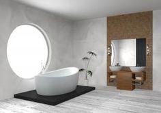 badekar, bad, bade, frittstående badekar