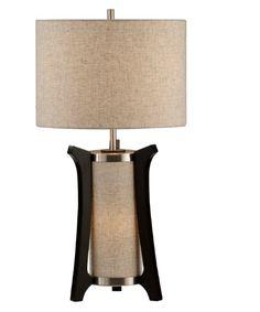 Nova 1010205 Hashimoto Table Lamp - Pecan - Table Lamps at Hayneedle