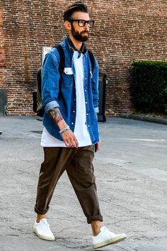 Latest season's Corde & Item introduction with plenty of feeling-Page 10 Japan Men Fashion, Daily Fashion, Mens Fashion, Fashion Outfits, Fashion Styles, Fashion Ideas, Hipster Outfits Men, Urban Style Outfits, Streetwear Mode