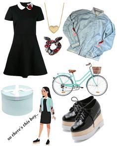 Lara Jean Covey Fashion Outfit - Source by - Tv Show Outfits, Fandom Outfits, Cool Outfits, Summer Outfits, Casual Outfits, Lara Jean, Look Fashion, Fashion Outfits, Movie Inspired Outfits