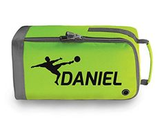 PERSONALISED CHILDRENS RUGBY FOOTBALL BOOT BAG KIDS SPORTS PE KIT SPORT GIFT D2