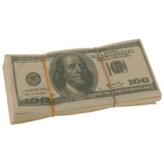 Koopman International One Hundred Dollar Bill Napkins: aLready have these, but need to buy more for the partay!