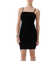 Add some serious va-va-voom to your spring look with our sexy shirred dress