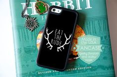 Eat the Rude Hannibal NBC Fannibal iPhone 6 Case Hannibal 6 Plus 5 Case Will Graham Quote Hugh Dancy Mads Mikkelsen for iPhone iPod 5 Touch
