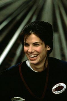 Sandra Bullock. Love the way she takes on funny roles. Beautiful actress.