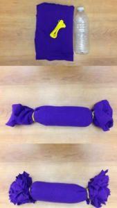 Idea DIY para perros. Mordedor con una botella de plástico