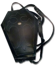 606aaf3b2559 Coffin Backpack From Alchemy Of England - Handbags