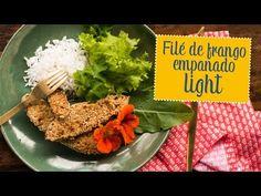 Moldando Afeto » filé de frango empanado light — o chef e a chata