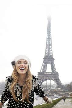 Spend Winter in Paris with www.blueillusion.com #eiffeltower