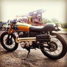 Honda CB350. Still in love.