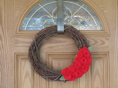 Elegant Grapevine Holiday Wreath July 4th by rusticowldecor, $34.00