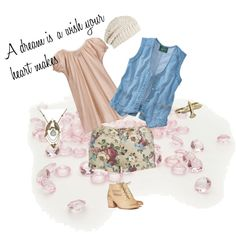 Cinderella Casual, created by dana15 on Polyvore