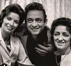 Johnny Cash' June Carter, and Maybelle Carter / /  For more country/americana inspirations, visit www.broncobills.co.uk