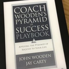 "Top 100 john wooden quotes photos Library of @trainerkenneth - Coach Wooden's Pyramid of Success Playbook ""Success is peace of mind which is a direct result of self-satisfaction in knowing you did your best to become the best that you are capable of becoming."" (from ""Coach Wooden's Pyramid of Success Playbook"" by John Wooden, Jay Carty, David Robinson)  #Coach #Wooden #play #games #Success #woodenspyramid #johnwooden #johnwoodenquotes"