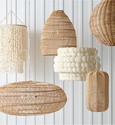 Explore the designer lighting & lamps collection by Serena & Lily & discover beautiful lamps, pendants & sconces for every room in your home. Shop now! Basket Lighting, Home Lighting Design, Appartement Design, Sell My House, I Love Lamp, Room Lamp, Cottage Interiors, Chandelier Pendant Lights, Lamp Design