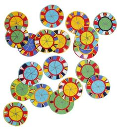 Love these vibrant Kenyan beaded coasters from Ben Pentreath.