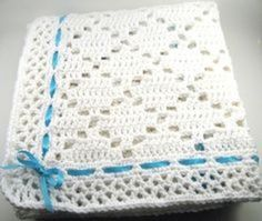 Crochet Baby Patterns Ravelry: Diamond Lace Baby Aghan pattern by the Jewell's Handmades - ~ ~ ~ ~ ~ ~ ~ ~ ~ ~ ~ ~ ~ ~ ~ ~ ~ ~ ~ Baby Afghan Patterns, Baby Afghan Crochet, Crochet Blanket Patterns, Crochet Stitches, Knitting Patterns, Crochet Blankets, Crochet Granny, Love Crochet, Easy Crochet