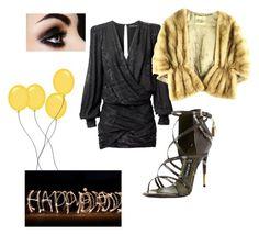 """birthdaylook2"" by beatriz-beatriz on Polyvore featuring moda, Balmain ve Tom Ford"