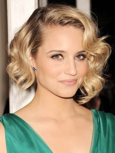 Dianna Agron - so beautiful, love her hair!