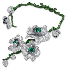 Read about the new 'Orchid King' necklace by Diana Zhang - the Symbol of Nobility