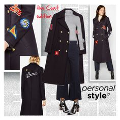 """""""The Coat Edition"""" by stylepersonal ❤ liked on Polyvore featuring Isabel Marant, Veronique Branquinho, zara, coat, TrendAlert and styleinsider"""