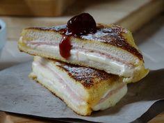 Sandwich Montecristo di Luke Danes #SerialFood