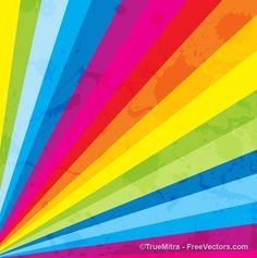 Rainbow strips multicolor vector background